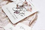 婚礼玫瑰邀请函