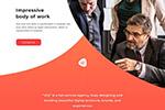 广告代理商Web模板