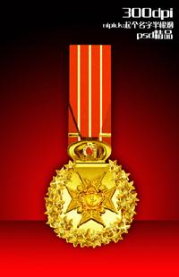 精品PSD勋章