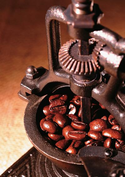 古老磨咖啡机