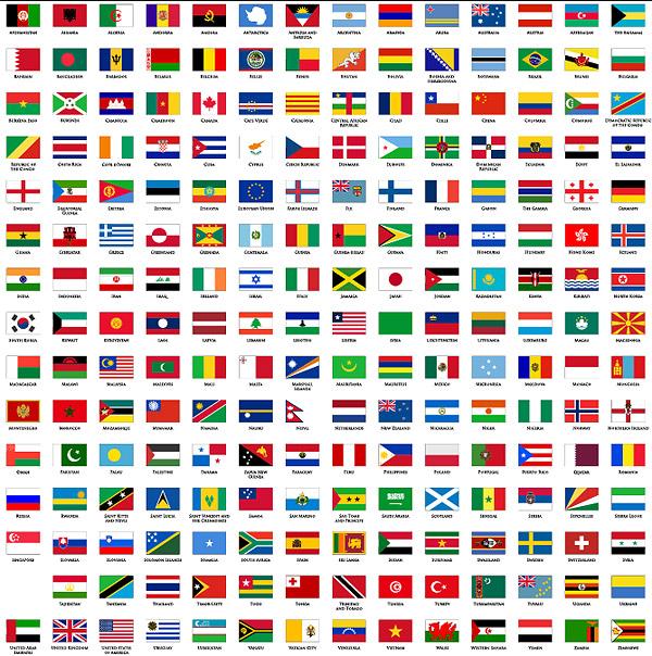 外国国旗_世界各国国旗区旗