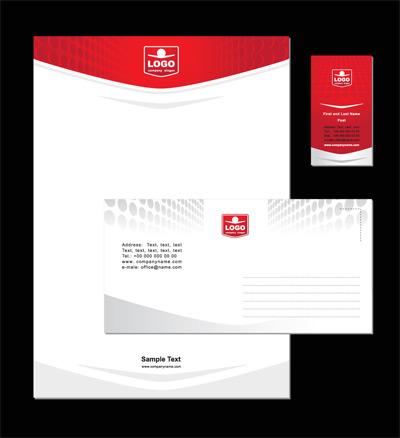 企业卡片、信封、