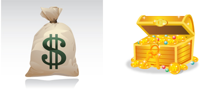钱袋与钱箱