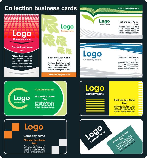 外国卡片模板2