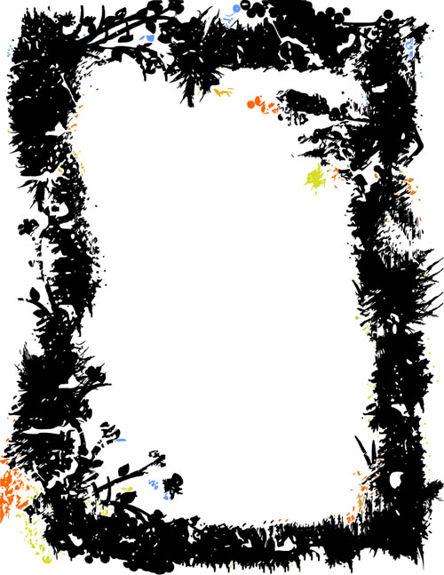 水墨边框背景_25