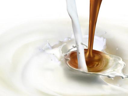 动感牛奶加咖啡