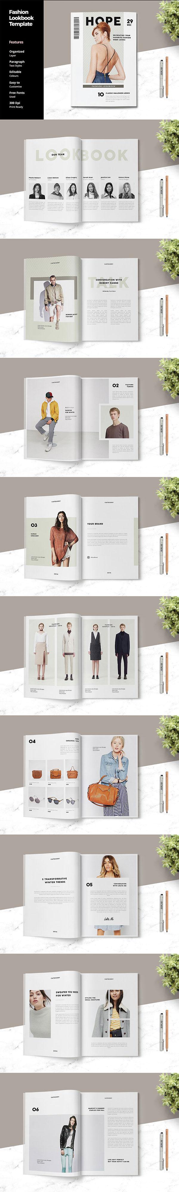时尚杂志模板