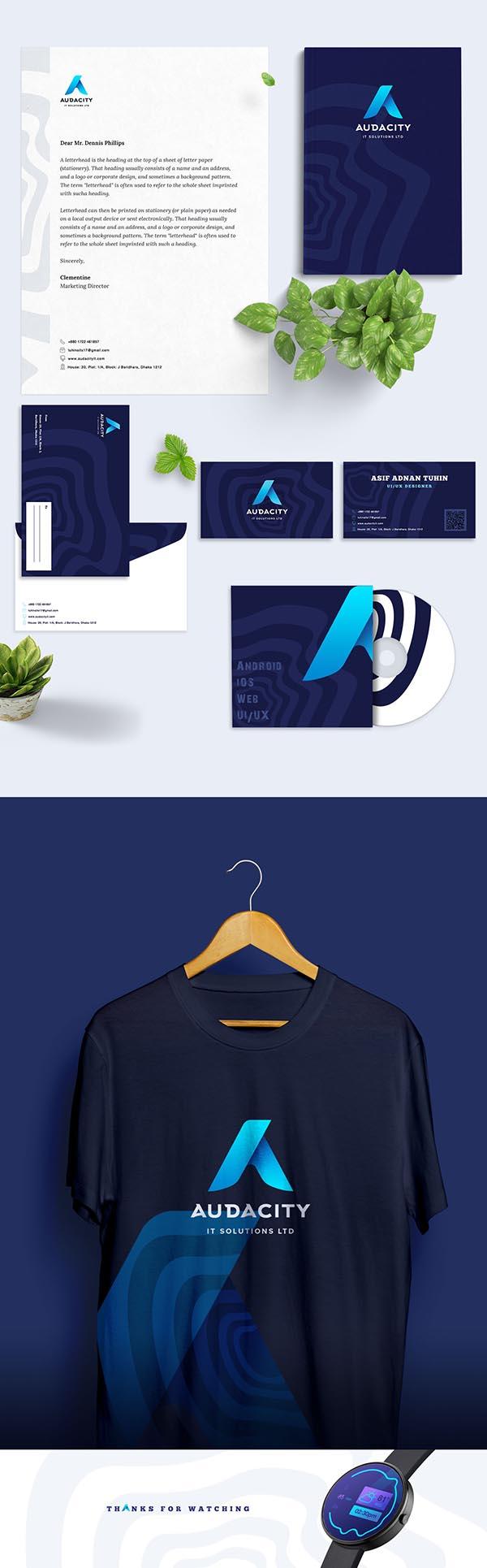 品牌物料模板