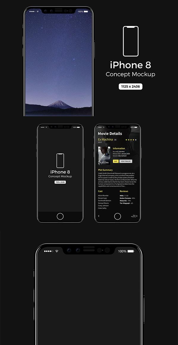 iPhone8概念样机