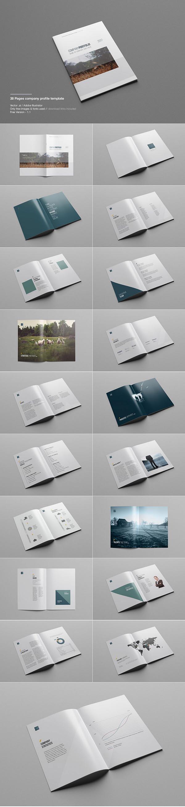 Ai公司画册杂志