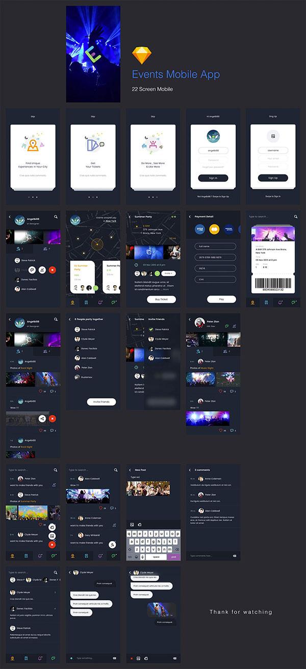 社交APP界面设计