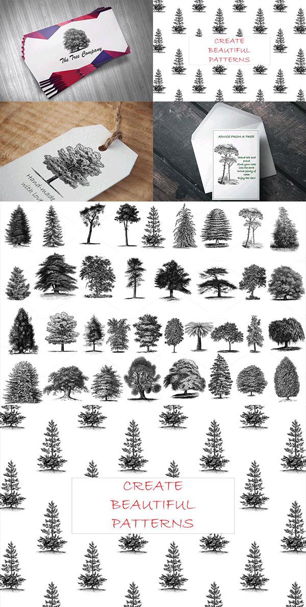 树木剪贴画PNG