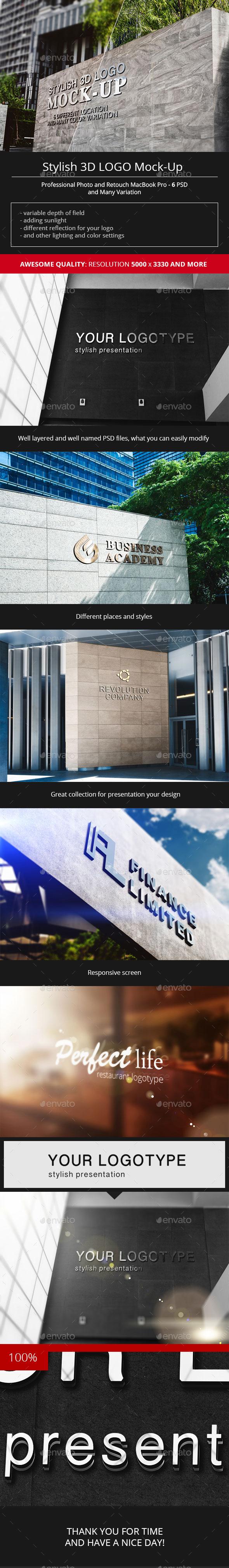 公司logo墙样机