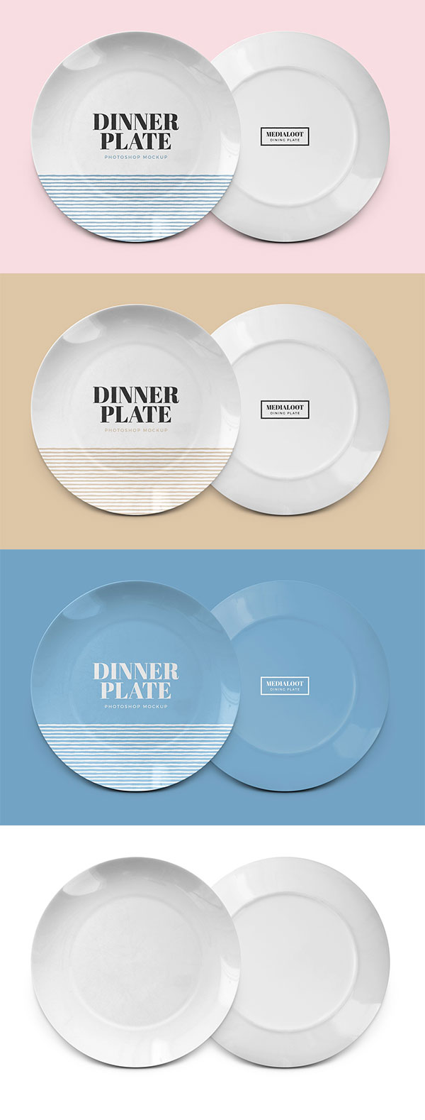陶瓷餐盘样机