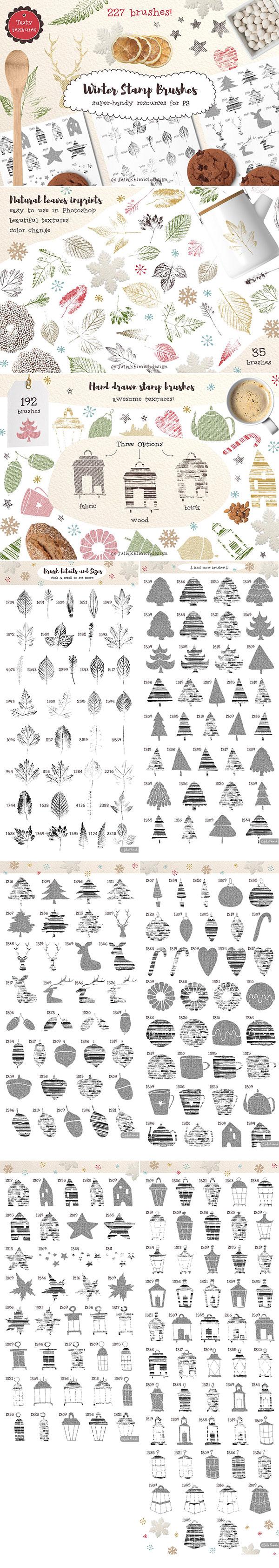 文字排版打包下载,psd,内含7个背景纹理,12个矢量模式,不包含展示中的图片