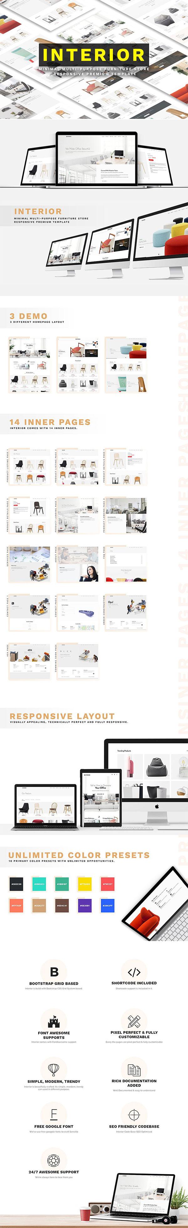 家具网站HTML模板