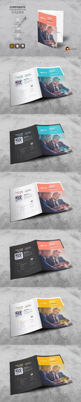 商务画册封面模板