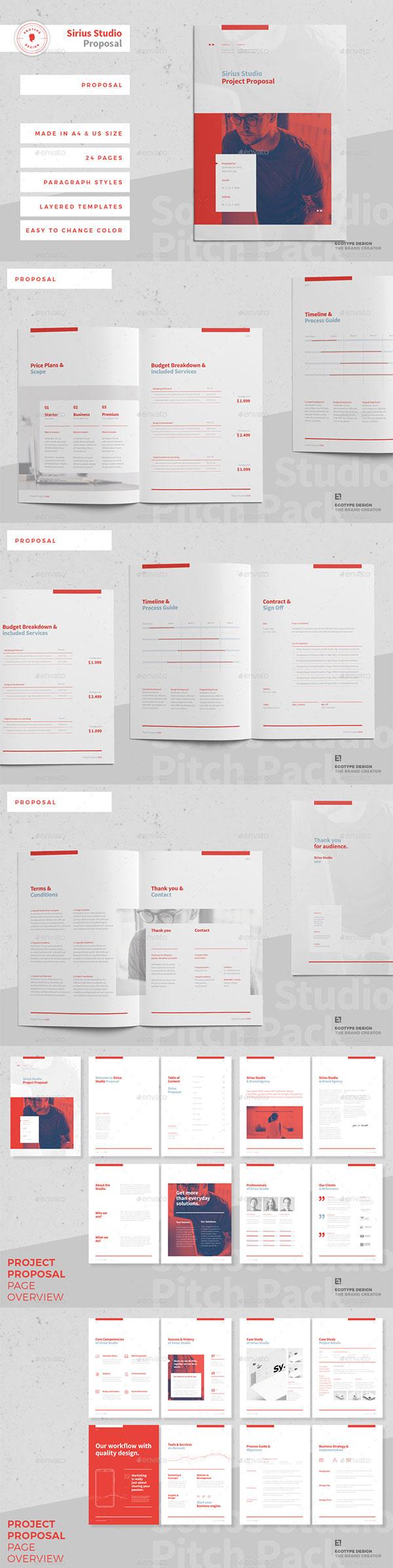 项目建议书ID模板