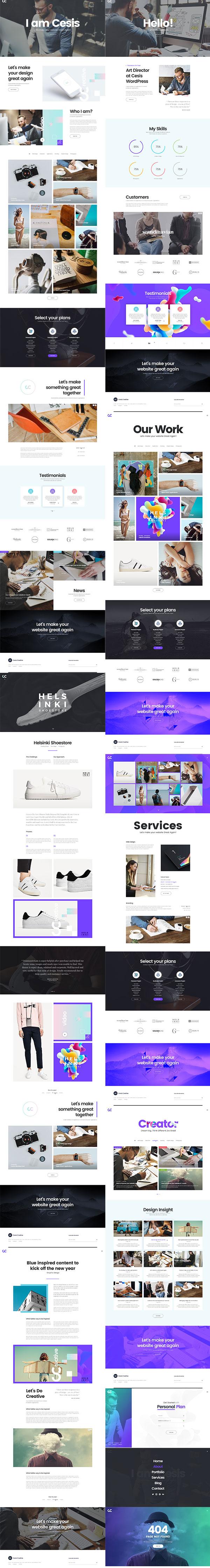 创意网站设计模板