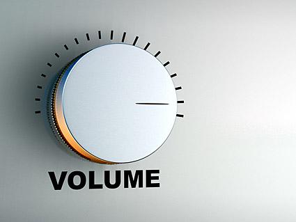 分立式音量加减电路图
