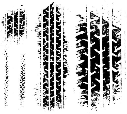 0 点 关键词: 汽车轮胎痕迹矢量素材,eps格式,矢量轮胎印,轮胎痕迹