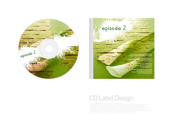 CD盒包装