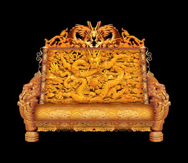 皇帝宝座龙椅