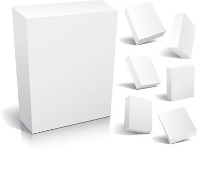 3d空白包装盒模板
