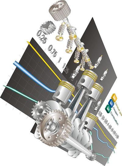 机械零件效果图,机械,零件,效果图,现代科技,现代工业,矢量图库,CDR