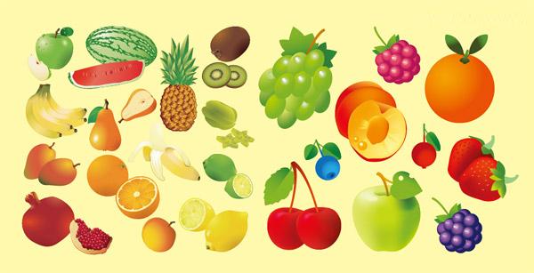 多款水果矢量