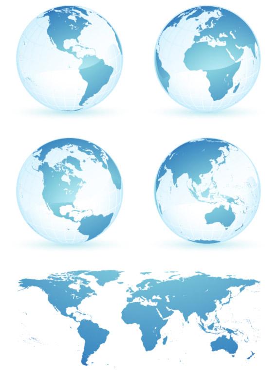 地球世界地图