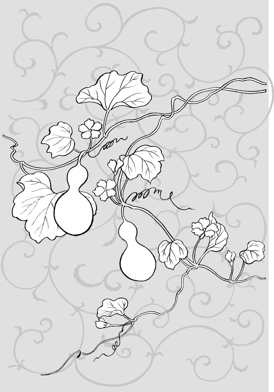 葫芦的折法图解