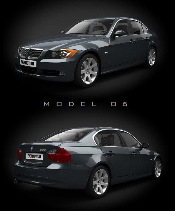 马汽车三维模型