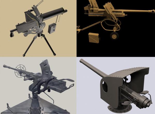 重型武器模型
