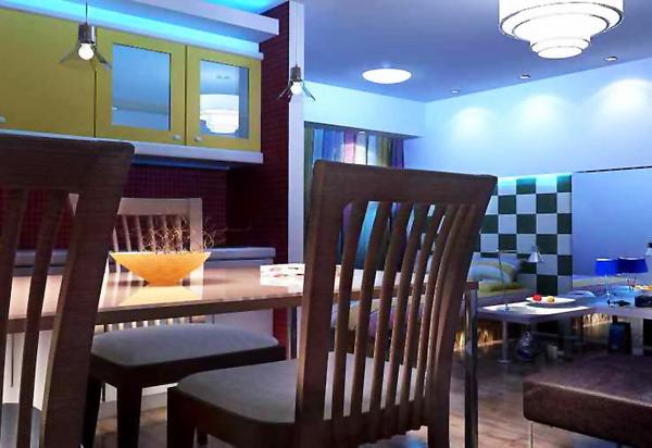 素材 中国 餐厅/餐厅3D模型3