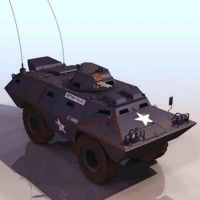 装甲车模型1