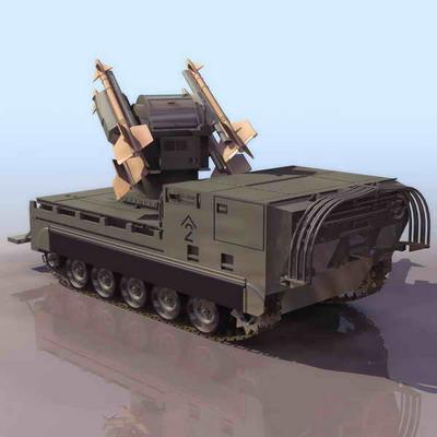 装甲车模型2