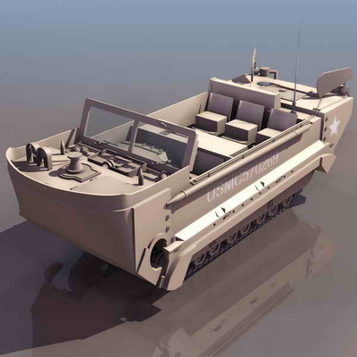 装甲车模型3