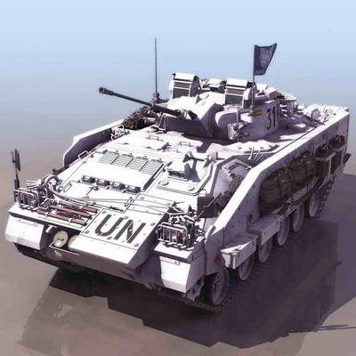 坦克3d模型1