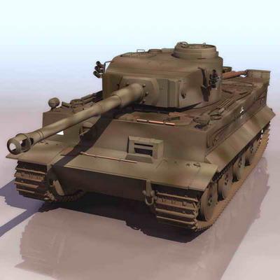 坦克3d模型2