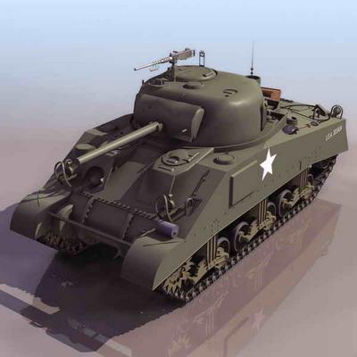 坦克3d模型4