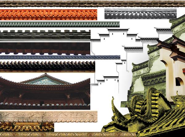 建筑屋檐图片