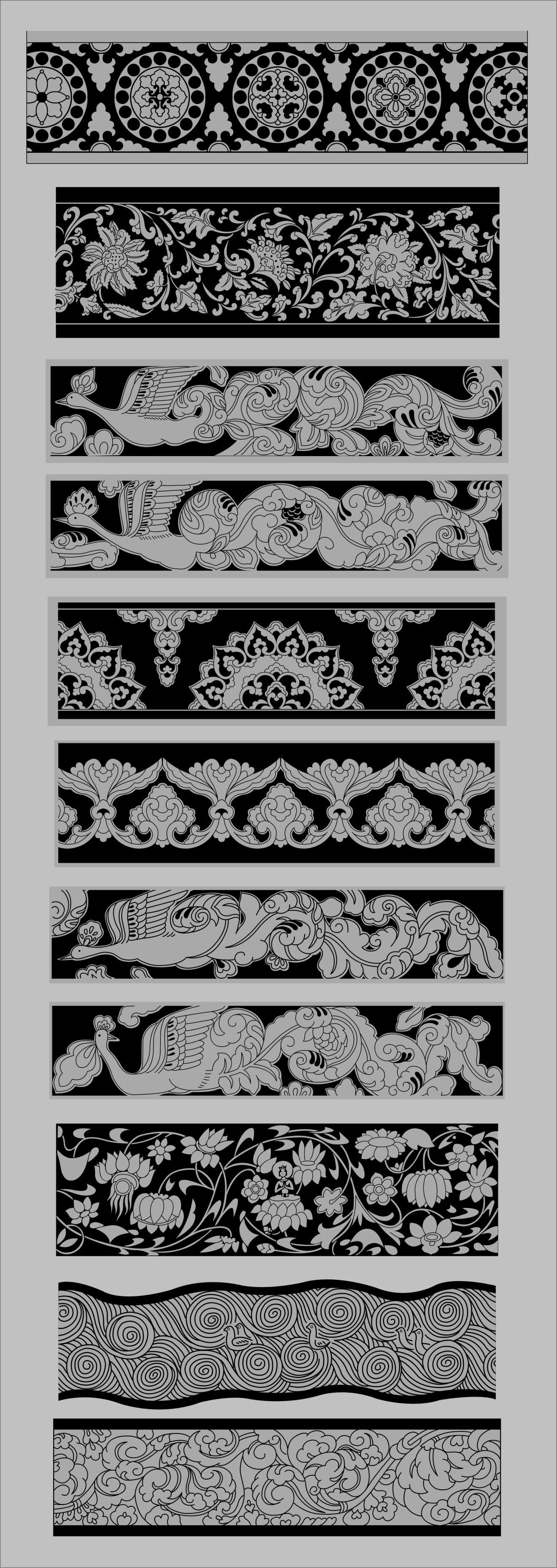 传统图案纹样分类