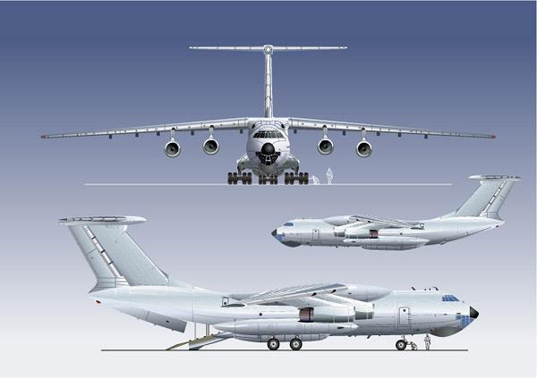 飞机客机矢量