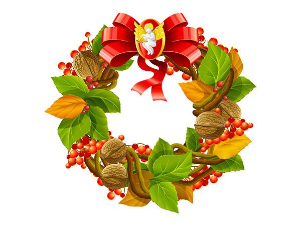 圣诞节花环