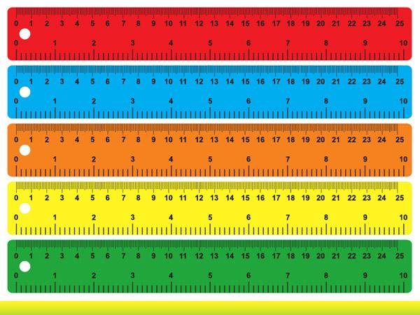关键词: 彩色的直尺矢量素材,eps格式,矢量,文具,刻度,尺子,直尺