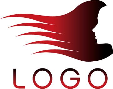 美发店logo模板