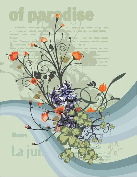 花卉图案_素材中国sccnn.com