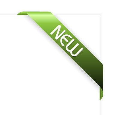 绿色new丝带
