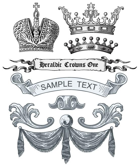 矢量潮流所需点数: 0 点 关键词: 欧式皇室元素矢量素材,欧式,古典图片